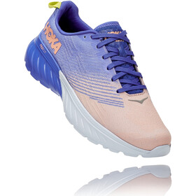 Hoka One One Mach 3 Shoes Women, amparo blue/salmon